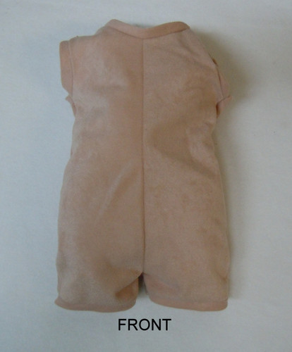 """Doe Suede Body for 22-24"""" Dolls Full Unjointed Arms Straight Legs #515ST"""