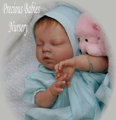 Noah Asleep Reborn Vinyl Doll Kit by Reva Schick