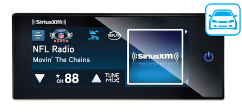 SXVCT1 Commander Touch by SiriusXM Radio