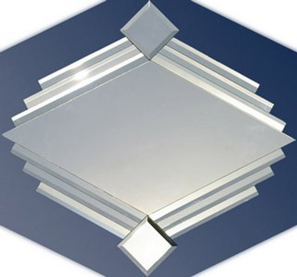 Diamond - Classic Art Decor Diamond Shaped Mirror