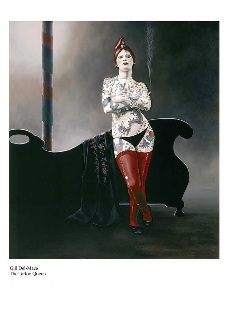The Tattoo Queen - Gill Del-Mace