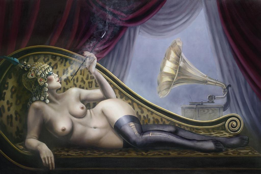 The Courtesan - Gill Del-Mace