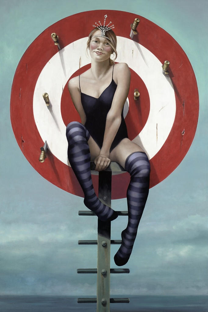 Print Decor | Gill Del Mace | Knife Thrower II