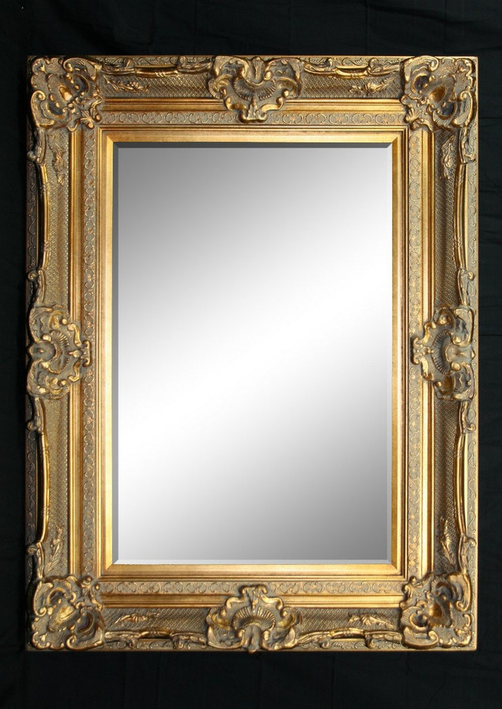 Grand Ornate Gold Mirror - Print Decor - Art, Mirrors, Frames
