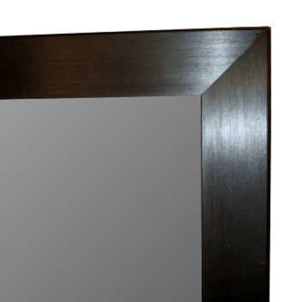 CONTEMPORARY BLACK MIRROR | Print Decor | Mirrors in Melbourne