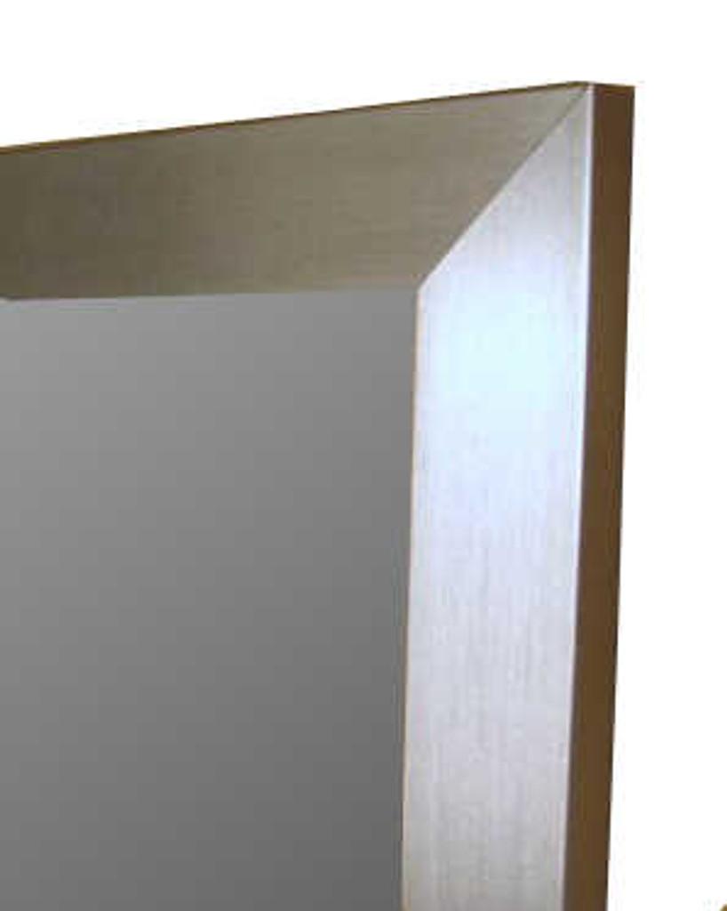 Modern Silver Frame, Detail | Mirror | Print Decor