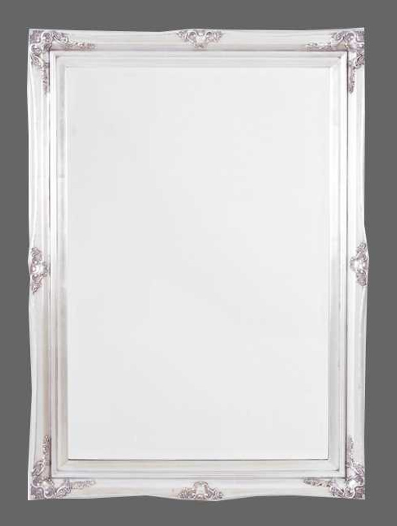Print Decor Princess silver frame mirror