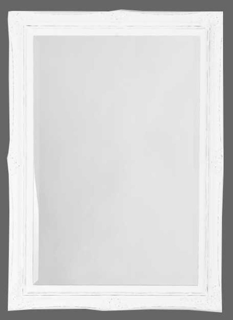 Print Decor White Princess Mirror