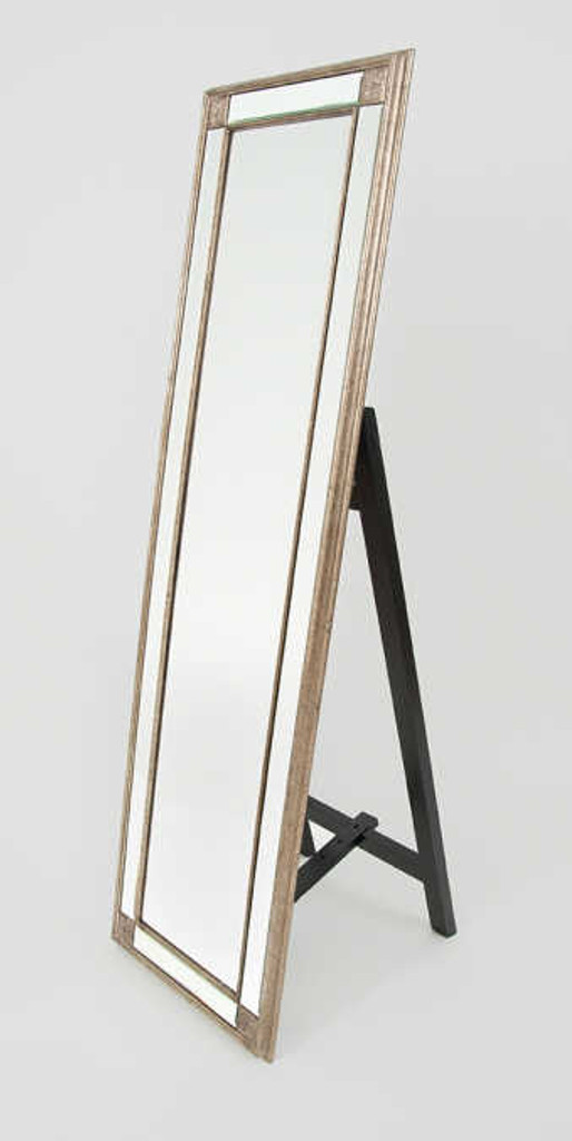 Print Decor | Tuscan Bronze bevelled mirror on stand