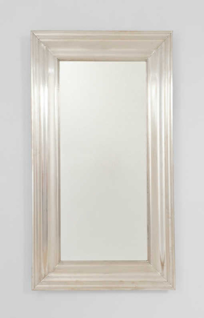 Print Decor | Metal White Mirror | Tall