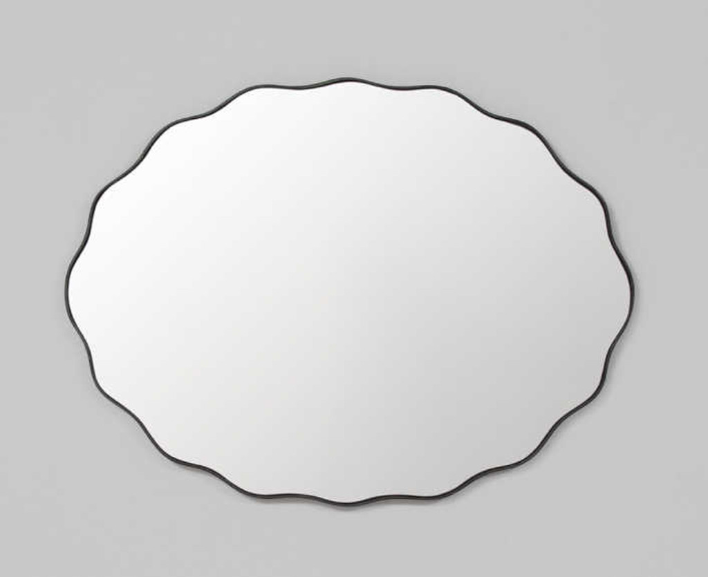 Print Decor | Scallop Mirror