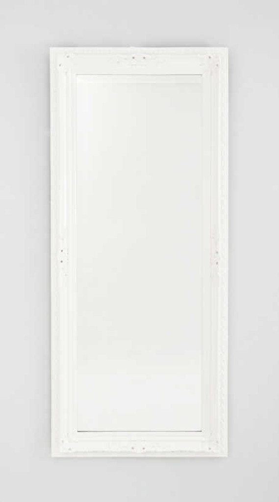 MODERN MIRROR | HAMPTON WHITE WASH MIRROR | PRINT DECOR