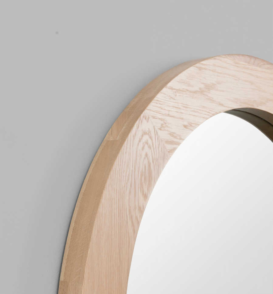 MODERN MIRROR | WINNIPEG MIRROR: ROUND | PRINT DECOR | DETAIL