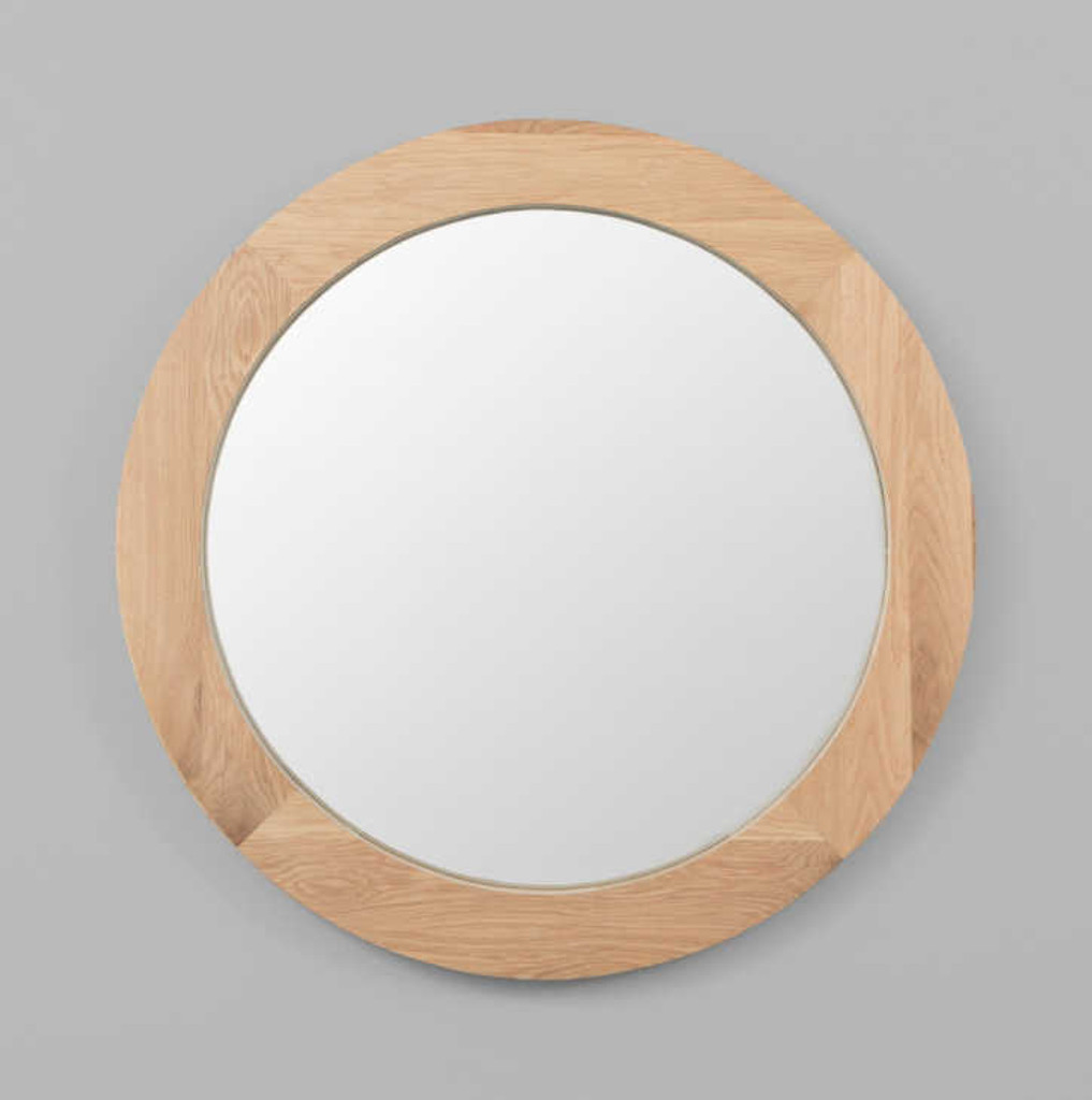 MODERN MIRROR | WINNIPEG MIRROR: ROUND | PRINT DECOR