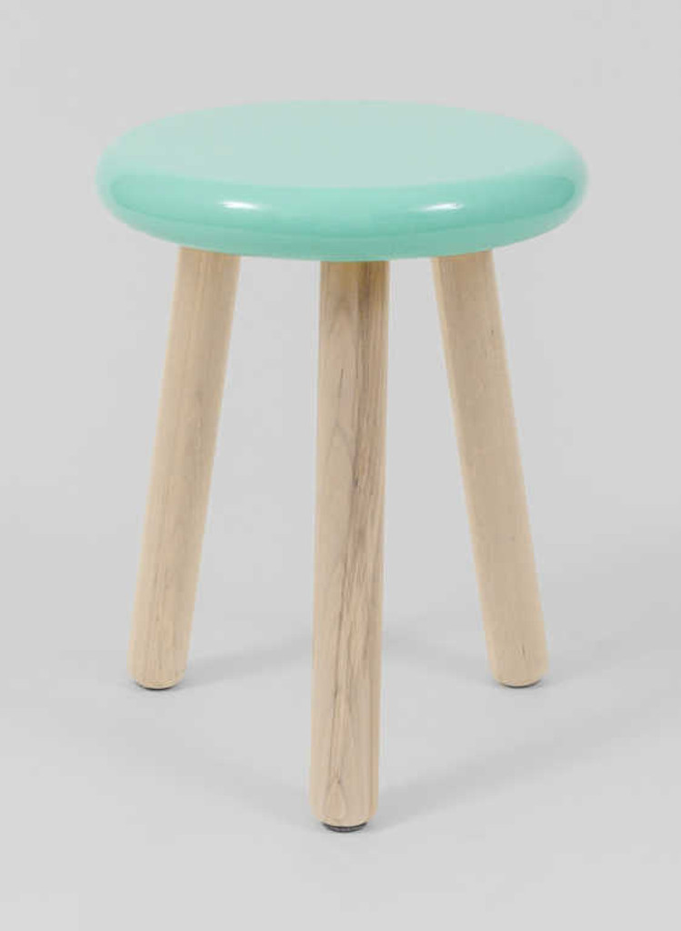 MODERN FURNITURE | JILL STOOL: MINT | PRINT DECOR