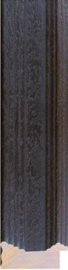 PRINT DECOR | VERMEER RUSTIC BLACK FRAME | DETAIL | 7 cm FRAME