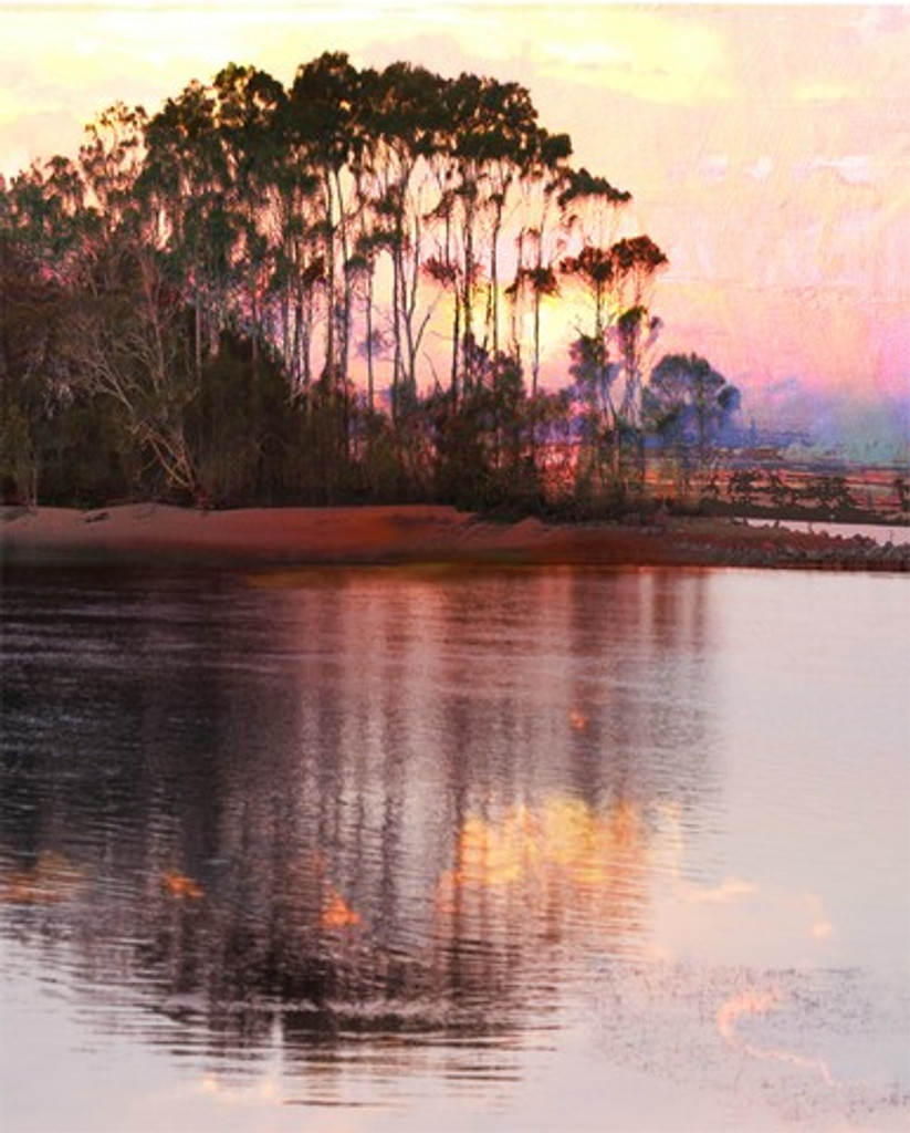 Sunset River Impression | Jan Neil | Print Decor