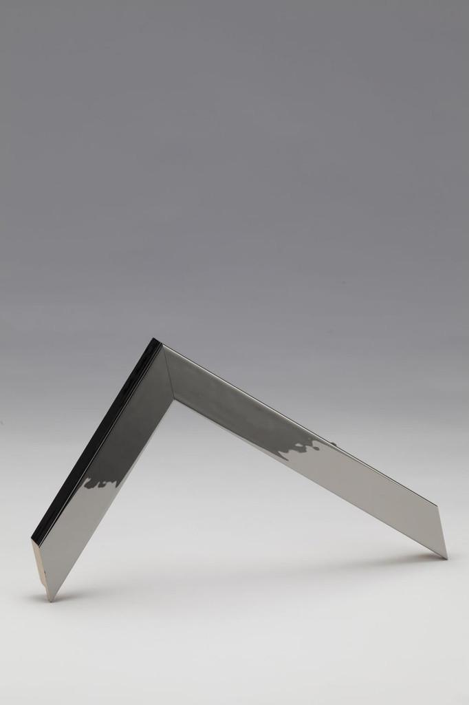 Mirror | Chrome Frame | Print Decor