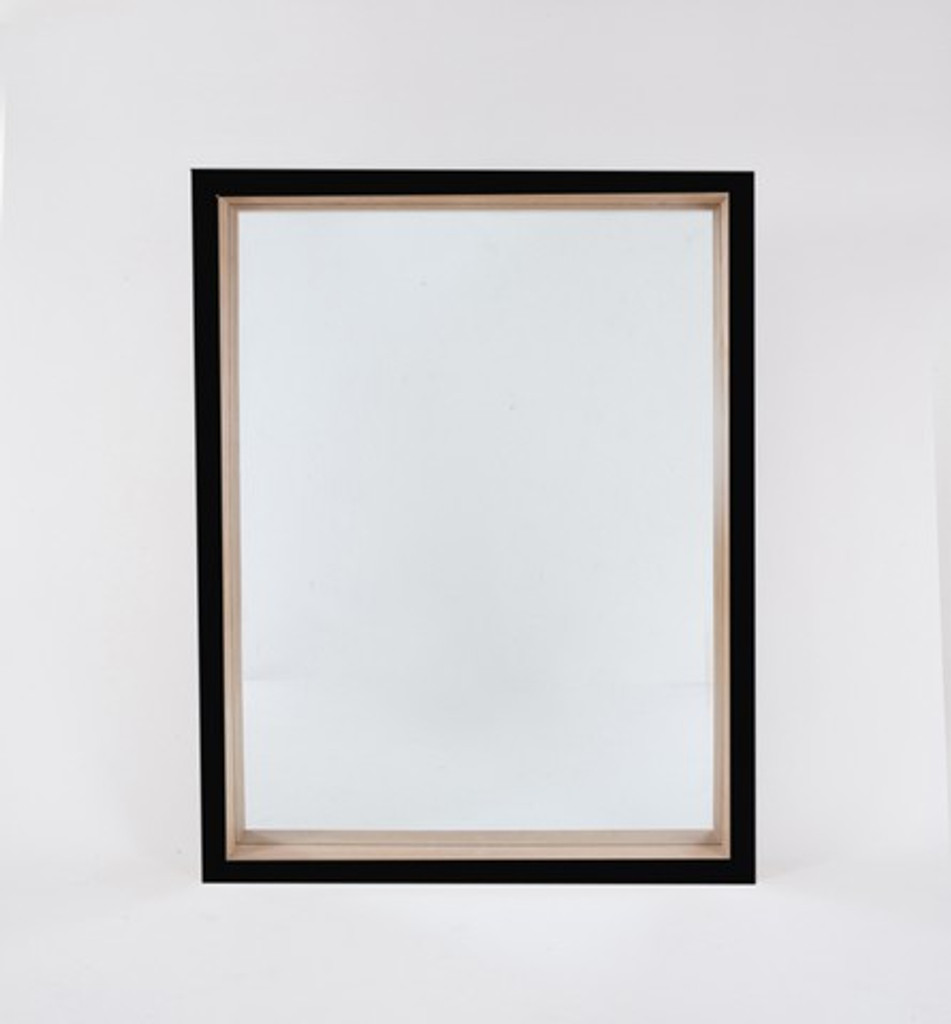 Skane Gloss Black Mirror | Print Decor