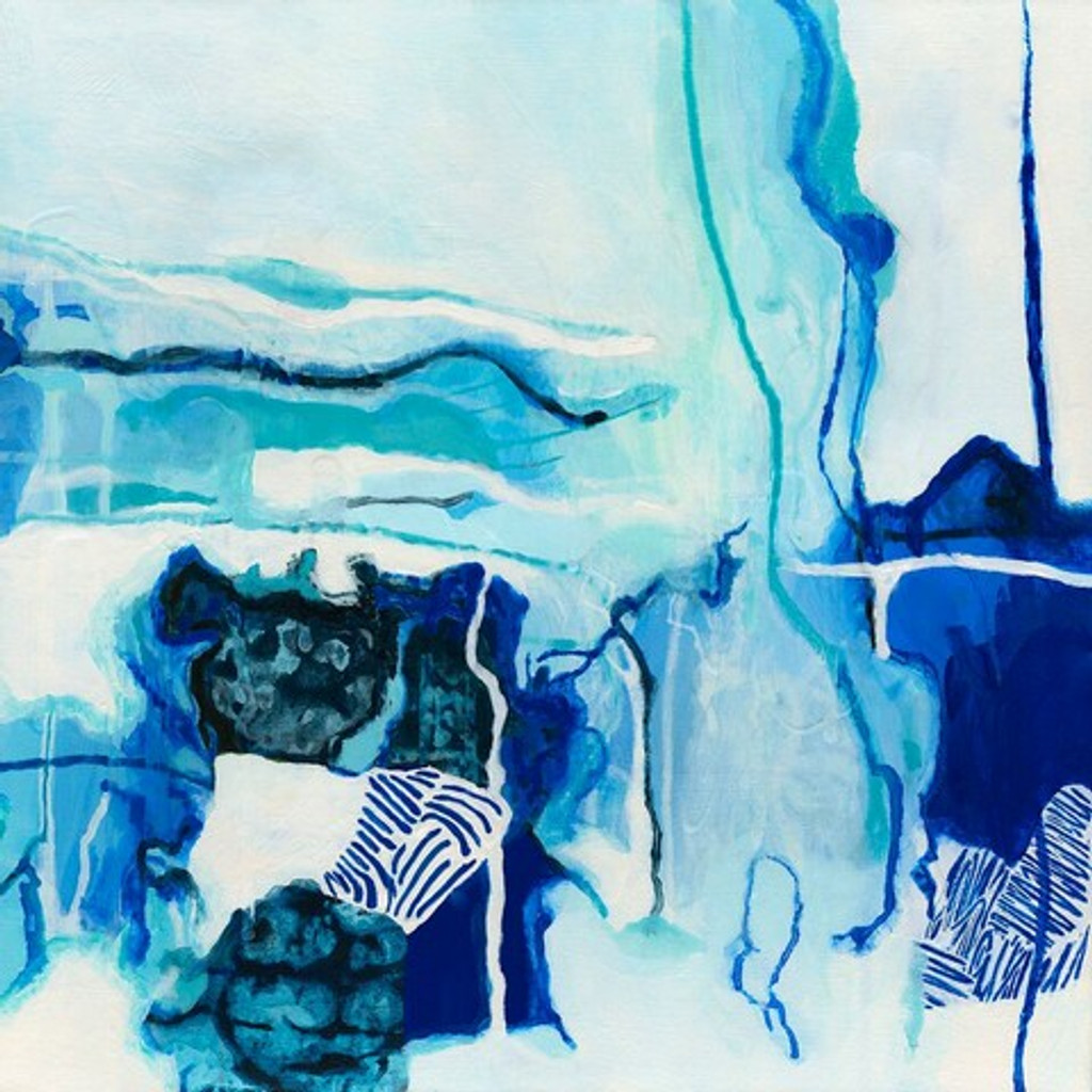 Contemporary local Melbourne art | 1000 Atolls by Nicolle Miller | Print Decor Gallery Malvern