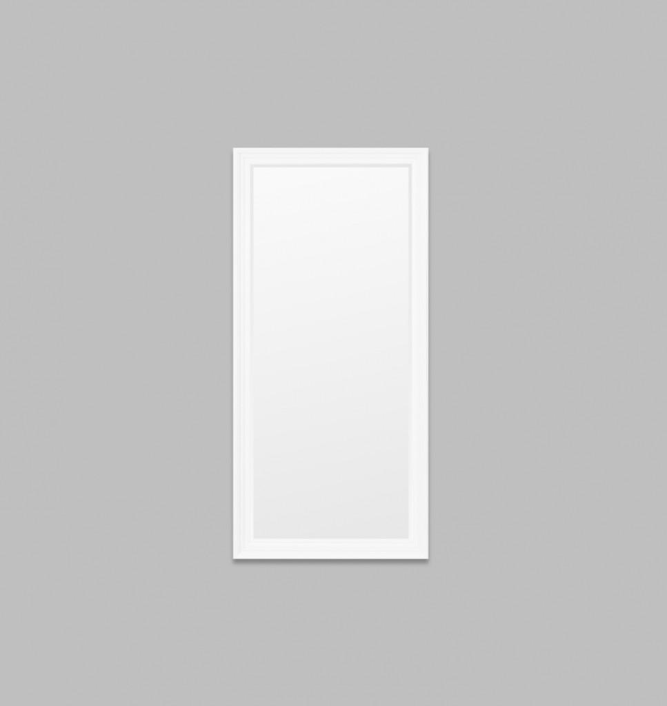 Fiona Black Leaner | Warm White | Print Decor