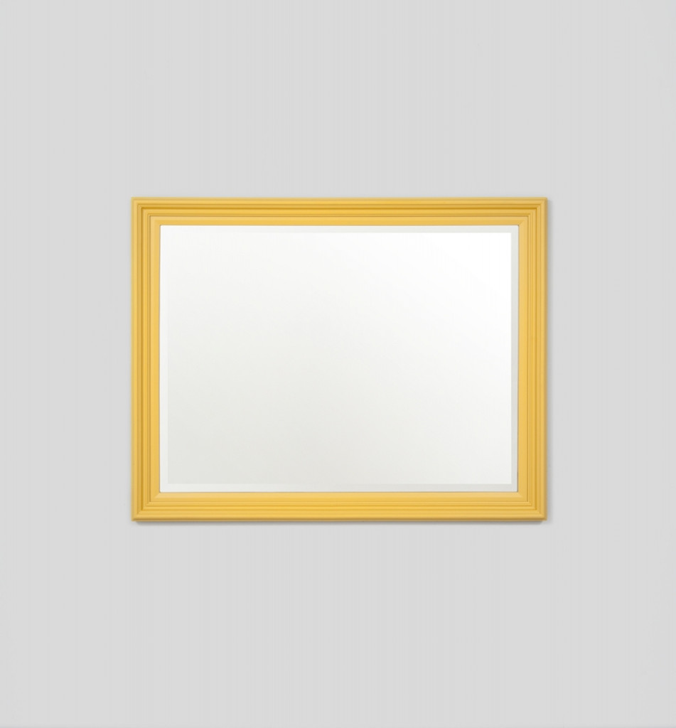 Fiona Mirror |  Soft Yellow | Print Decor Melbourne