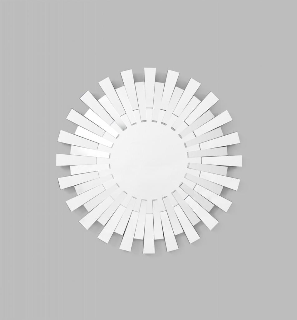 Modern Sunburst Mirror | Print Decor