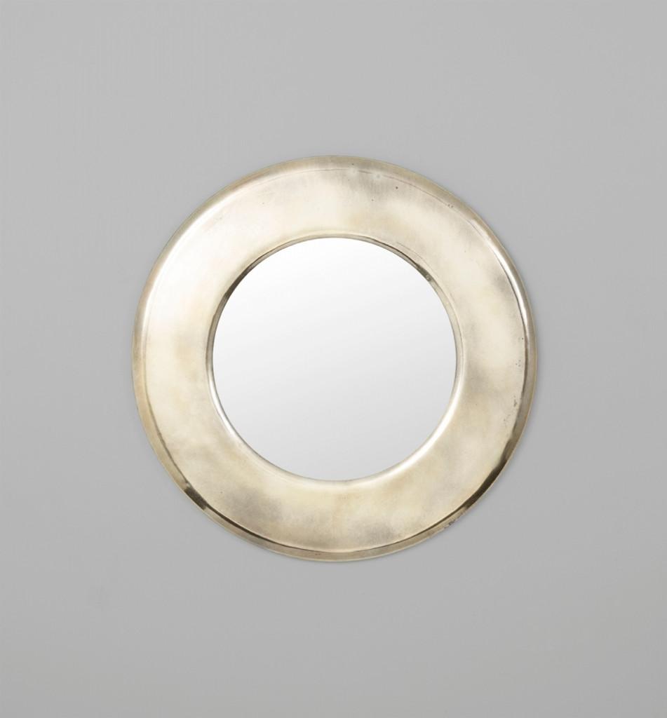 Orbital Silver Mirror | Print Decor