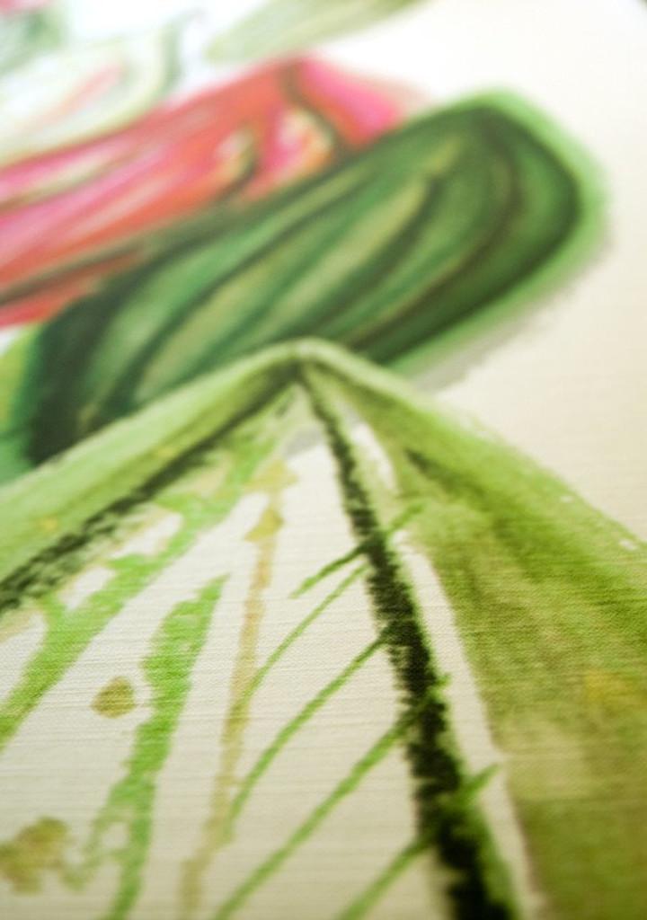 Scandinavian designed fabric art,  Frutti Pink | Detail