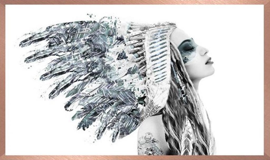 Miss Grey Skies - Print Decor - Art, Mirrors, Frames
