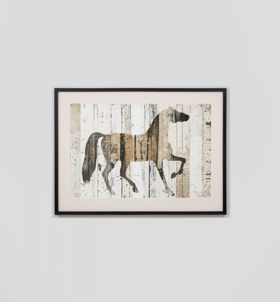 Dark Horse - Print Decor - Art, Mirrors, Frames