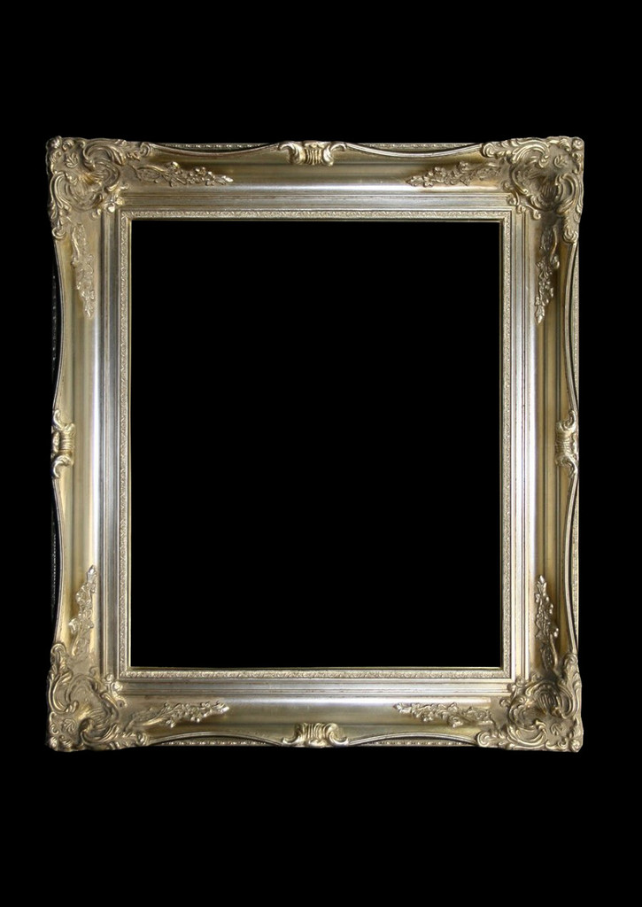 Empty Frame Imperial Silver | Print Decor