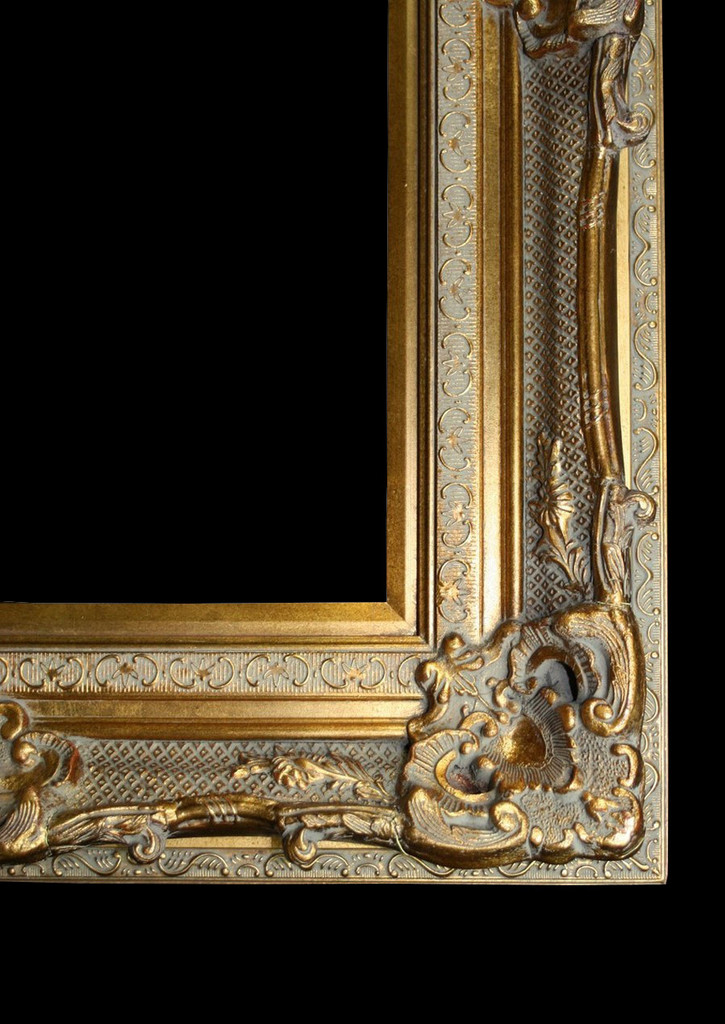 Empty Frame Grand Ornate Gold