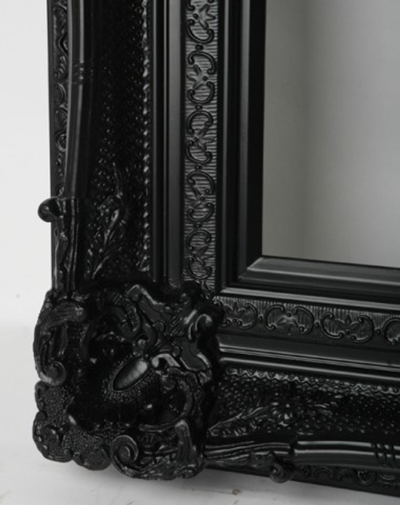 Empty Frame Grand Ornate Black