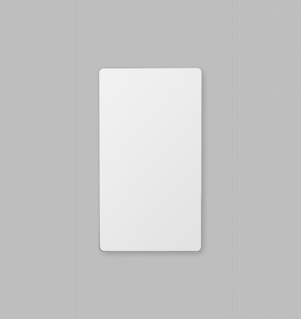 Errol Curved Middle Grey | Print Decor