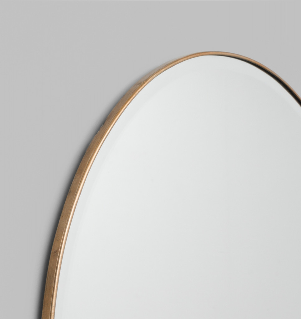 Brass Lang Mirror | Detail