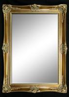 Print Décor - Classic Antique Gold  Beveled Mirror