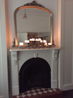 Domed Over Mantel Rustica  In Situ | Print Decor