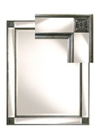 Print Decor | Tuscan Bronze bevelled mirror