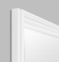 Fiona Black Leaner | Warm White | Print Decor | Detail