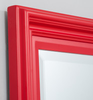 Fiona Mirror, Detail | Lobster Red | Print Decor Melbourne