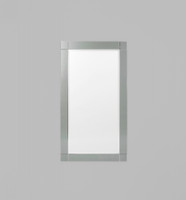 Milan Silver Black Mirror  | Print Decor | Malvern