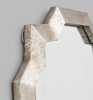 Celtic Contemporary Mirror | Detail | Print Decor