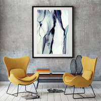 Modern organic abstract art | Celeste Wrona | Print Decor Melbourne