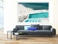 Beautiful Australian Seaside Framed Print |