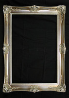 Empty Frame  Antique Victorian Silver