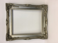 Empty Frame Imperial Bright Silver | Print Decor