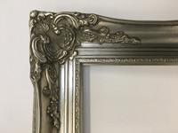 Empty Frame Imperial Bright Silver | Detail | Print Decor