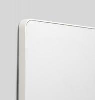 Errol Curved White  | Print Decor | Detail