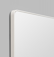 Errol Rectangle Curved | White | Detail